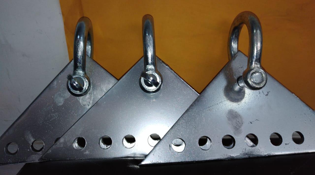 Cartelas Triangulares De 7 Agujeros Pcenter Per 250 Sac