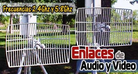 Enlaces de Audio y Video